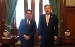 Se reúne Kiko Vega con el Secretario de Hacienda, Arturo…
