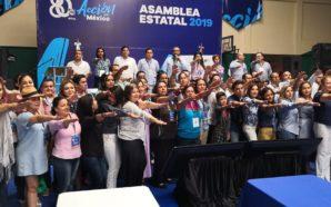 Participación de panistas tecatenses en asamblea estatal
