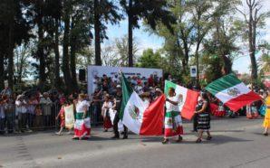 Se realiza el tradicional desfile de independencia nacional en Tecate