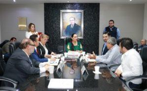 Diputada Araceli Geraldo presenta plan de trabajo en Comunicación del…