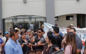 Atiende Araceli Brown inquietud de residentes por falta de agua…