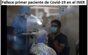 PRIMER VÍCTIMA DE COVID19 EN MÉXICO