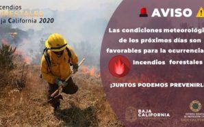 PROTECCIÓN CIVIL HACE LLAMADO A PREVENIR INCENDIOS FORESTALES
