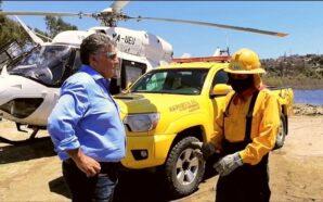 """Por Su Día """"Gracias"""" a los combatientes de incendios forestales…"""
