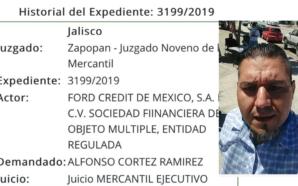 Regidor independiente, Alfonso Cortés demandado por mala paga