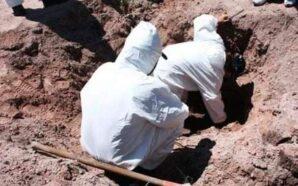 Las fosas clandestinas en México