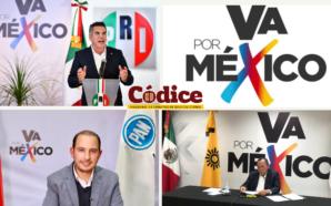 Se registra la coalición #VaPorMéxico entre PRI-PAN-PRD