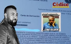 Denuncian a regidor por mala paga, Alfonso Zacarías se niega…