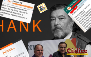 El BERRINCHE de Hank Rhon, busca partidos pequeños para postularse…