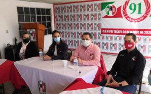 Lupita Jones se reúne con miembros del PRI en Tecate