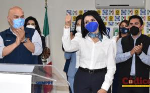 Eva María Vázquez buscará la Alcaldía de Mexicali representando a…