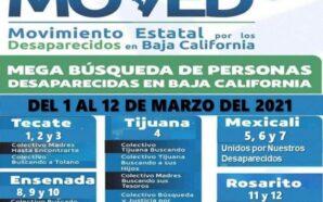 MEGA BÚSQUEDA DE PERSONAS DESAPARECIDAS INICIA EN TECATE