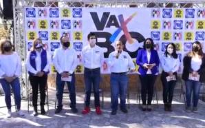 Javier Pérez y Román Cota inician campaña junto a militantes