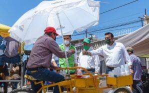 Tenencias, agua e infraestructura, algunas propuestas de César Adrián González