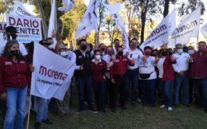 """Conectado"" inicia campaña Darío Benítez, candidato de Morena"