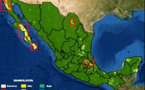 Existe riesgo de incendios forestales en la región