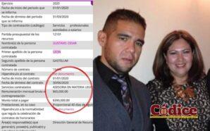 Senadora León Gastelum le paga más de un millón a…