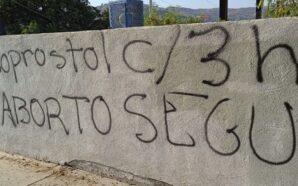Grafitean instalaciones del PAN en Tecate por ley de matrimonios…