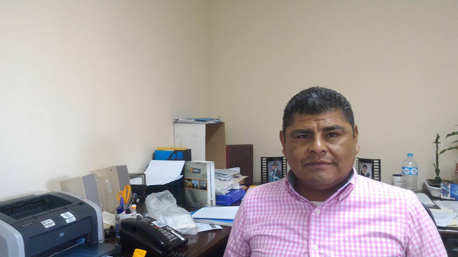 osé Manuel Márquez Martínez Recaudador de Rentas del Estado en Tecate