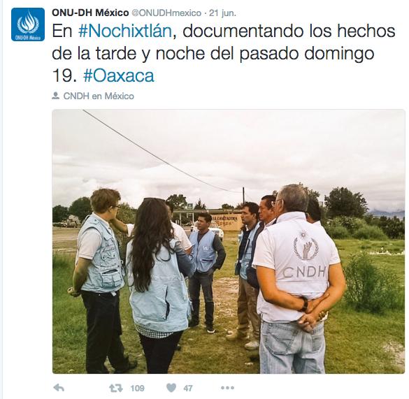 ONU-DH en Oaxaca