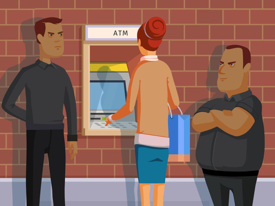 Evita ser v ctima de robo en cajeros c dice peri dico for Como se abre un cajero automatico