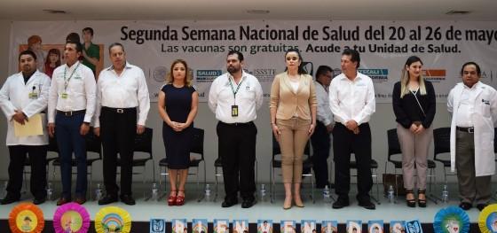 Inaugura Gobierno del Estado segunda Semana Nacional de Salud 2017