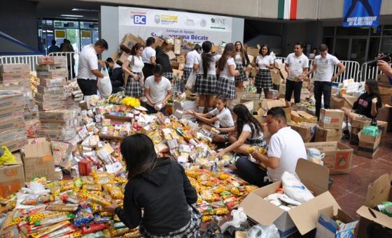 Envía Gobierno del Estado muestra de solidaridad a la niñez y jóvenes afectados por los sismos