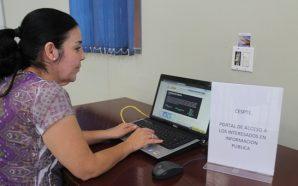 Instala Gobierno del Estado módulo de Transparencia y Acceso a la Información en oficina de CESPTE