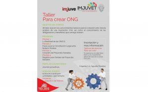 Imjuvet Abrirán taller para crear ONG.