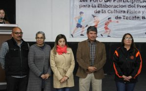 Gobierno Municipal realizó el 1er Foro de la Cultura Física y el Deporte de Tecate