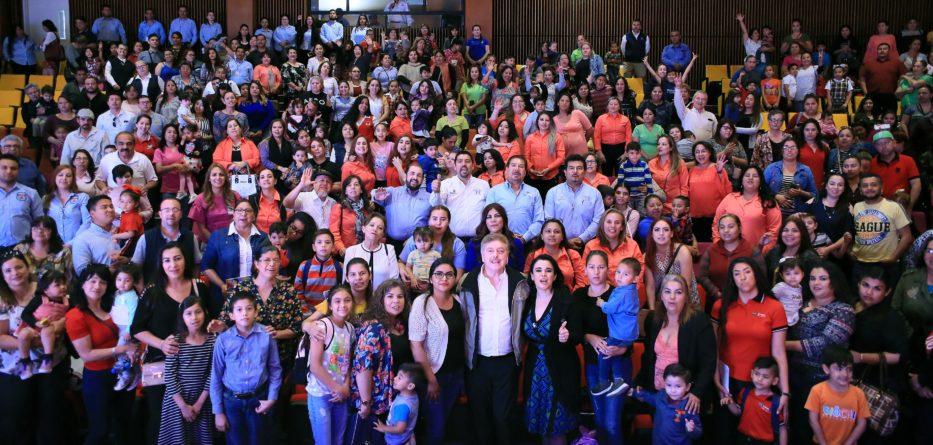 Ratifica Gobernador Kiko Vega recursos para que programa de estancias infantiles se mantenga