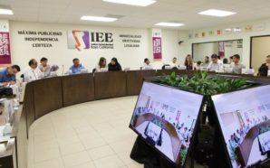 Comisión del régimen de partidos políticos y financiamiento del IEEBC emite lineamientos para el registro de candidaturas