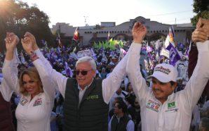 Enseña Morena músculo electoral en Tecate
