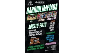Convocan a inscribirse en la Barriolimpiada 2019
