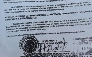 Exigen regresar a trabajadores de gobierno de Tecate sin ofrecer…