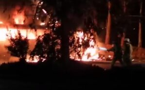 Accidente vehicular provocó apagones en varios colonias de Tecate