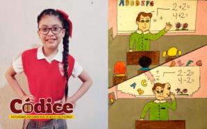 Alumna tecatense gana en concurso estatal y nacional de dibujo