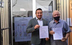 ADRIÁN GONZÁLEZ RECIBE CONSTANCIA DE MAYORÍA COMO DIPUTADO ELECTO
