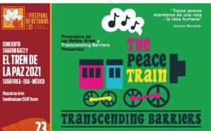 Llega el Tren de la Paz a Tecate